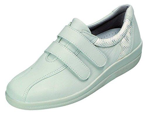 DocComfort , Chaussures de ville à lacets pour femme blanc blanc cassé Blanc Cassé