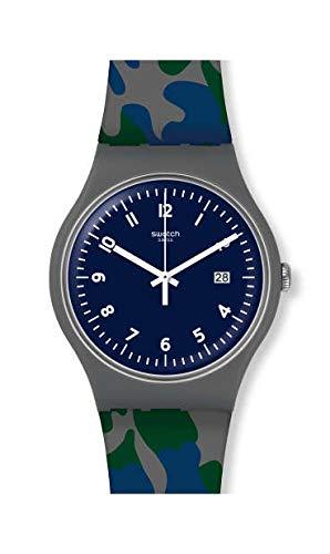 Uhren Swatch New Gent SUOM400 CAMOUGREEN