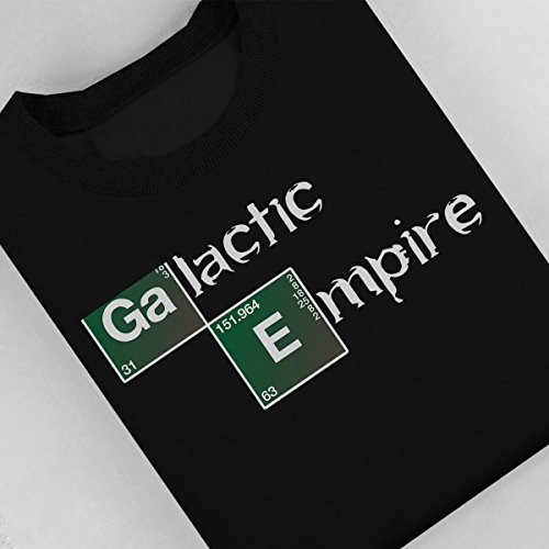 Star Wars Rogue One Galactic Empire Breaking Bad Logo Women's Sweatshirt Black