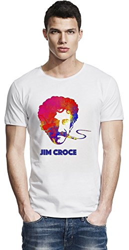 Colourful Jim Croce Raw Edge-T-Shirt X-Large -