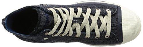 "Diesel ""MAGNETE"" EXPOSURE Herren Hohe Sneakers Blau (T6067 Indigo)"