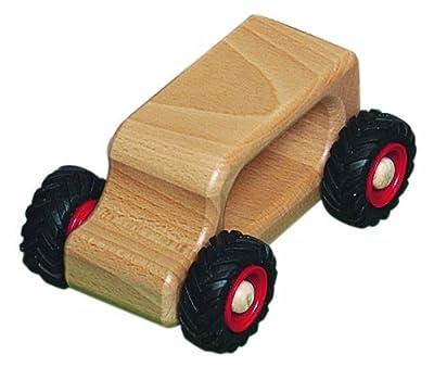 FAGUS Knubbelauto Oldie Holzfahrzeug   Modell: 11.03 (ab 2 Jahren) von Fagus