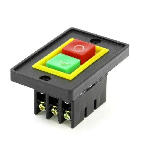 sourcingmap® AC 380V 2KW I/O 2 Positionen Start-up-Motor Self Locking elektromagnetische Schalter (Ac-motor)