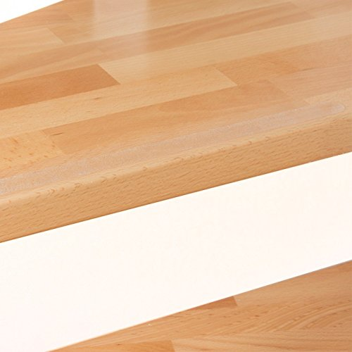 16x High Quality Clear Discreet Transparent Textured Non Slip Safety Treads for Hallway Floor and Stairs 16 Clear)