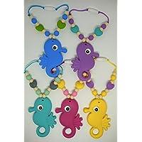 Cavallo di Mare Anello per Dentizione – Clip per Baby Carrier – Clip per Ciuccio