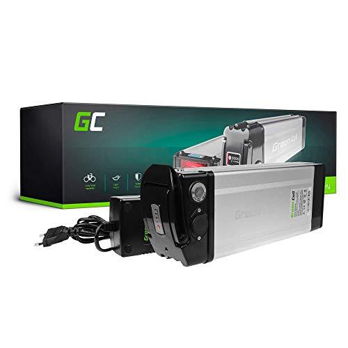 GC® E-Bike Akku 24V 14.5Ah Batterie Pedelec Silverfish mit Ladegerät und Li-Ion Panasonic Zellen ISY Helliot Revoe Alpha Hithot Vilano