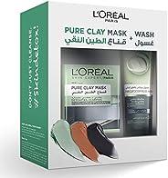 L'Oreal Paris Pure Black Clay Mask & Wash - Detoxifying
