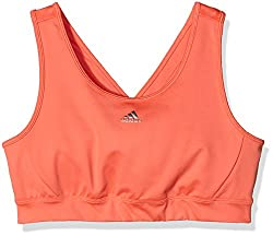 adidas Girls Bustier (AK2658_SUNGLO/MSILVE-128_7-8 years)