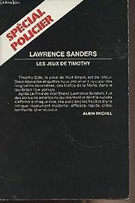 Les jeux de Timothy par Lawrence Sanders