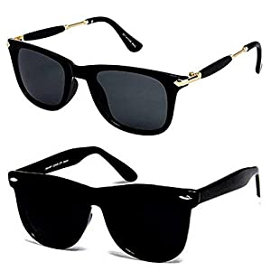 Y&S Sunglasses for Combo Latest Cooling Men Goggles Stylish