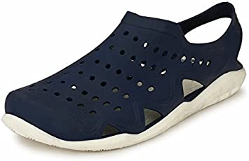 Afrojack Men's Swiftwater Wave Croc/Mules
