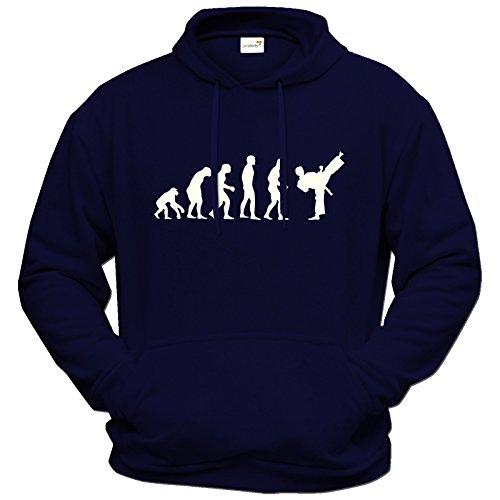 getshirts-best-of-hoodie-fun-evolution-karate-marine-xxl