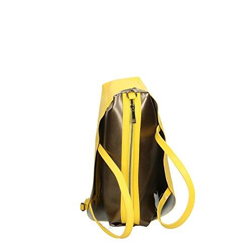 Chicca Borse Handbag Borsa a Mano in Vera Pelle Made in italy - 38x30x12 Cm Giallo Footaction Precio Barato Elegir Un Mejor sqSC2E