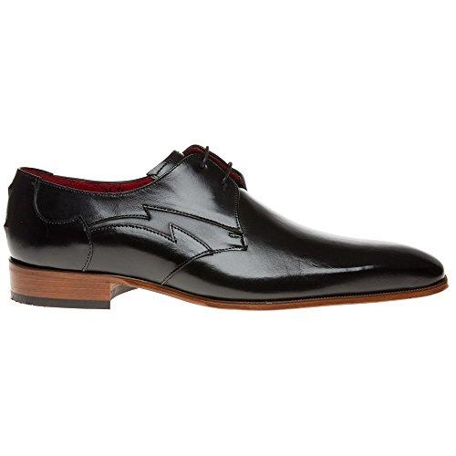 Jeffery West J923 Homme Chaussures Noir Noir