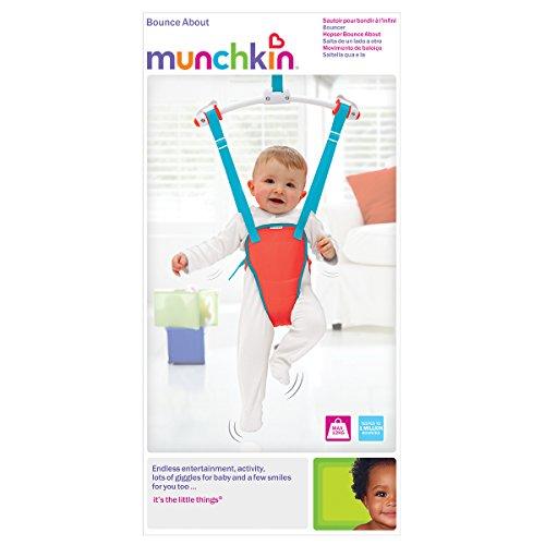 Munchkin Bounce About Türhopser, rot - 5