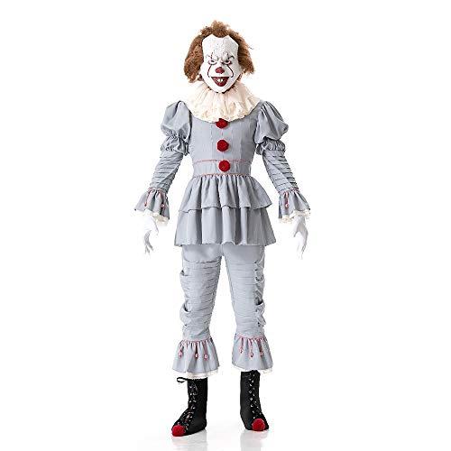 HYMZP Halloween Kostüm, Erwachsenen Clown Pennywise Cosplay Kostüm, Bühnenkostüm - Spiderman Kostüm Stiefel
