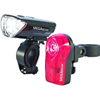 Sport DirectTM bici MegaBeamTM 0.5W LED Light Set 3 diodi
