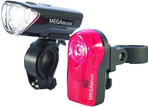 Sport DirectTM MegaBeamTM Bicicleta LED Conjuntos de faros delanteros y traseros CE aprobado