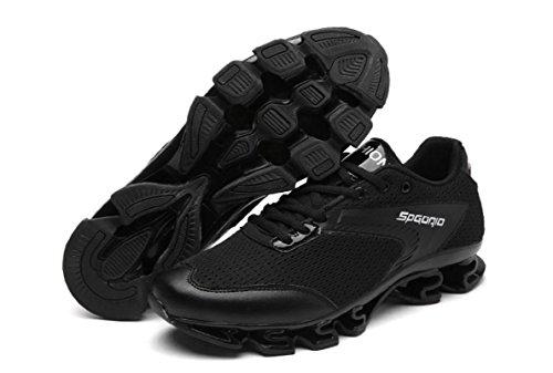 HYLM Scarpe sportive Uomini Scarpe da corsa Scarpe sportive all'aperto Scarpe da uomo Casual Uomo Black
