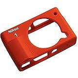Nikon CF-N8000 Silikon Schutzhülle für Nikon 1 J4 Kamera - Orangen