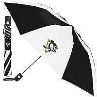 WinCraft Pittsburgh Penguins Auto Folding NHL Umbrella