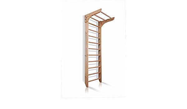 Klettergerüst Baby Holz : Kletterwand sprossenwand mit stange sportgerät kinder 1 220 fitness
