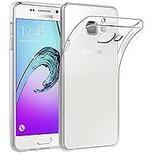 EasyAcc Samsung Galaxy A5 2016 Custodia, Samsung Galaxy A5 2016 Morbido TPU Custodia Cover Cristallo limpido Trasparente Slim Anti Scivolo Custodia Protezione Posteriore Cover Antiurto per Samsung Galaxy A5 2016