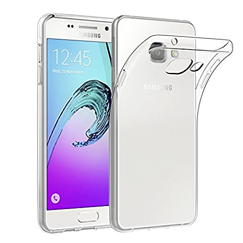 Samsung Galaxy A5 2016 5.2'' Hülle Case, EasyAcc Dünn Crystal Clear Transparent Handyhülle Cover Soft Premium-TPU Durchsichtige Schutzhülle Backcover Slimcase für Samsung Galaxy A5 2016