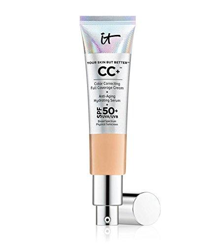 Sie Cosmetics Haut aber besser CC Cream mit LSF 50+–Medium Tan (Es Cosmetics Cc Serum)