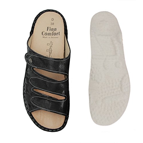 Finn Comfort 02554506099, Infradito donna Nero nero Nero (nero)