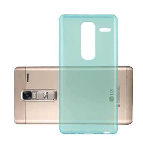 Cadorabo Hülle für LG Class - Hülle in TRANSPARENT BLAU - Handyhülle aus TPU Silikon im Ultra Slim 'AIR' Design - Silikonhülle Schutzhülle Soft Back Cover Case Bumper