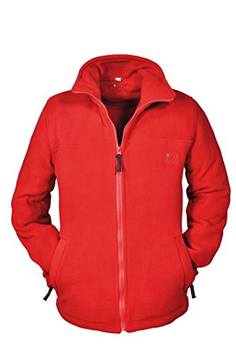Brigg - Unifarbene Fleece Jacke in verschiedenen Farben (10 824 644) Rot(100)