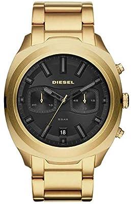 Diesel Reloj Cronógrafo para Hombre de Cuarzo con Correa en Acero Inoxidable DZ4492