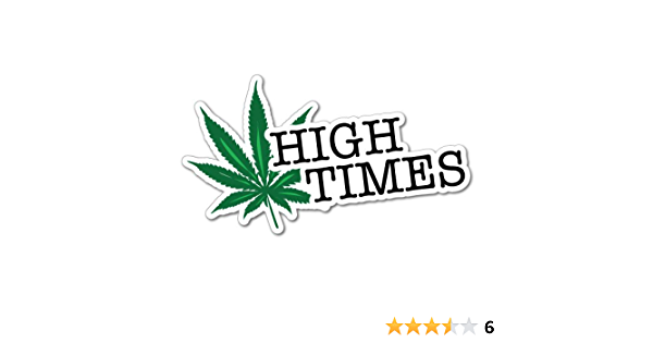 High Weed Leaf Sticker Decal 420 Dope Car Funny Auto