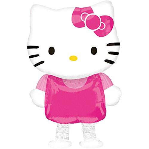 paduTec Airwalker Laufender Ballon Folienballon Geburtstag Geschenk Hello Kitty