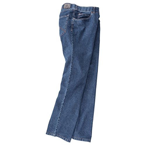 Club of Comfort Stretch-Jeans James blue Übergröße Blau