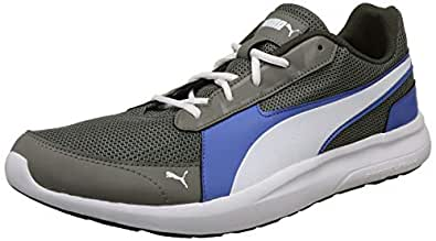 Puma Men's Star Sapphire-Castor Gray White Sneakers-9 UK/India (43 EU) (4060978030283)
