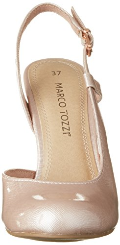 Marco Tozzi 29611, Sandales Bout Ouvert Femme Rose (Rose 521)