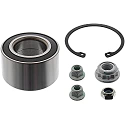 febi bilstein 14250 Wheel Bearing Kit with axle nut, nuts and circlip, pack of one