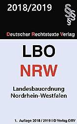 Bauordnung NRW: Landesbauordnung Nordrhein-Westfalen