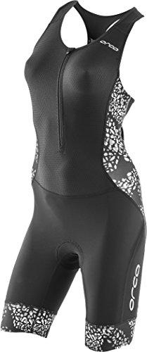 Orca 226 Kompress Racesuit Women Black/White Größe M 2018 Triathlon-Bekleidung