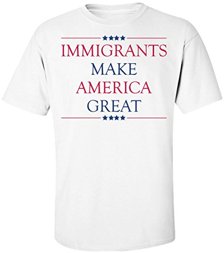 immigrants-make-america-great-design-mens-t-shirt-small
