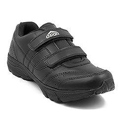 Asian Shoes Boys GENIUS Black School Range 10 UK/Indian