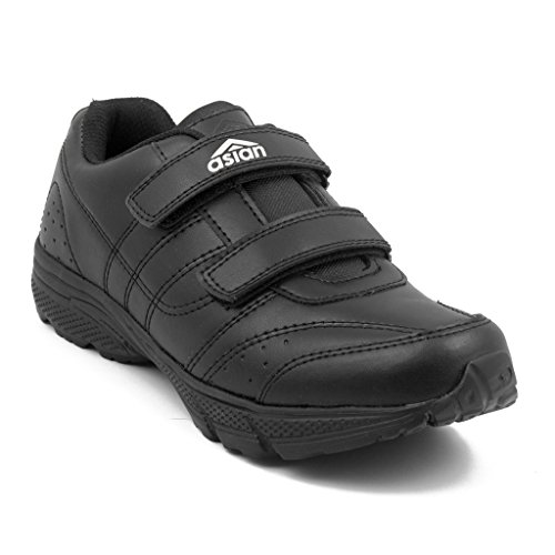 Asian Shoes Boy's GENIUS Black School Range