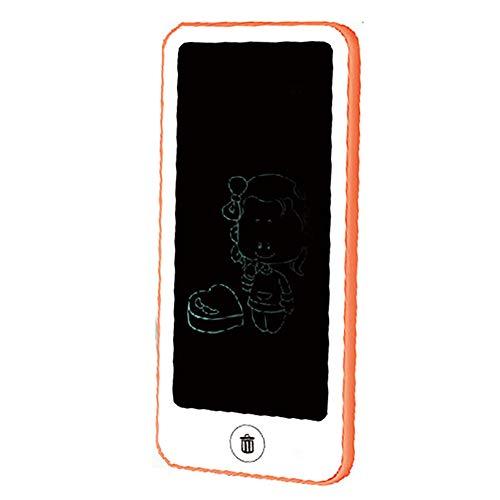 YXFYXF Kinder Cartoon Tablet LCD Smart Elektronische Digitale FrüHerziehung Zeichnung Handschrift Pad Tragbare Tafel Mit Stift Graffiti Malbrett,Pink