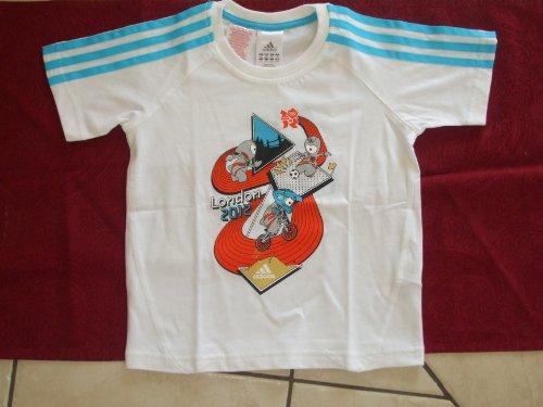 adidas Mascot Sport Tee T-Shirt Größe 92 NEU (Tee 92)