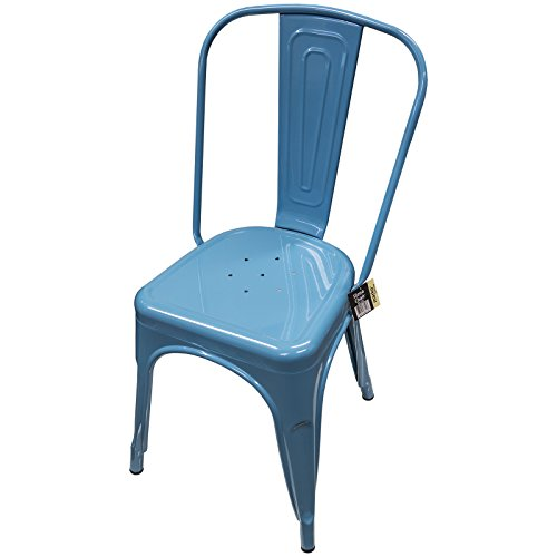 Marko Furniture Sedie in metallo vintage, in stile Tolix industriale ...