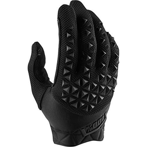 guanti mtb 100 percent 100 Percent Airmatic 100% Glove Black/Charcoal MD Guanti per Occasioni Speciali