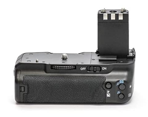 Minadax Pro Battery Grip for Canon EOS 350D, 400D Replaces BG-E3 for NB-2LH and 6 AA Batteries