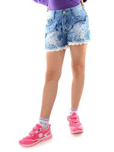 BEZLIT Kinder Mädchen Jeans Shorts Kurze Hose Used 22143 Größe 140